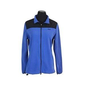 Fila Blue Fleece Jacket
